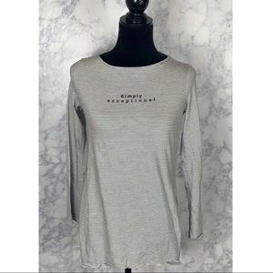 Zara BW Collection Simply Exceptional Top Sz S